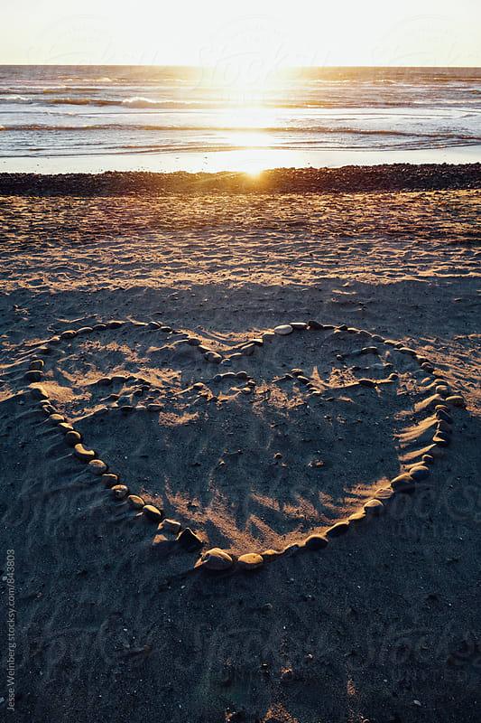 Heart Rocks by Jesse Weinberg for Stocksy United
