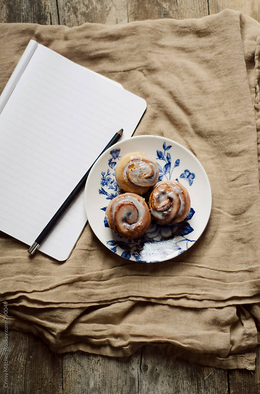 cinnamon rolls  by Crissy Mitchell for Stocksy United