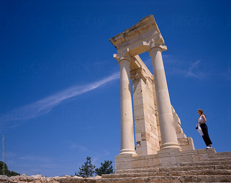 Sanctuary of Apollo. Cyprus. by Hugh Sitton for Stocksy United