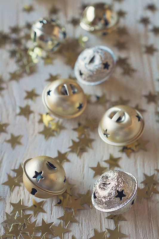 Silver baubles by Pixel Stories for Stocksy United