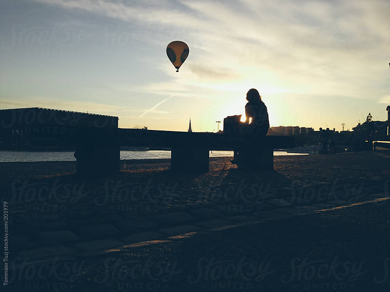 stockholm at sunset by Tommaso Tuzj for Stocksy United