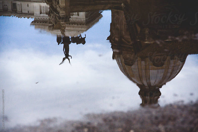 Rome in a puddle by Luca Pierro for Stocksy United