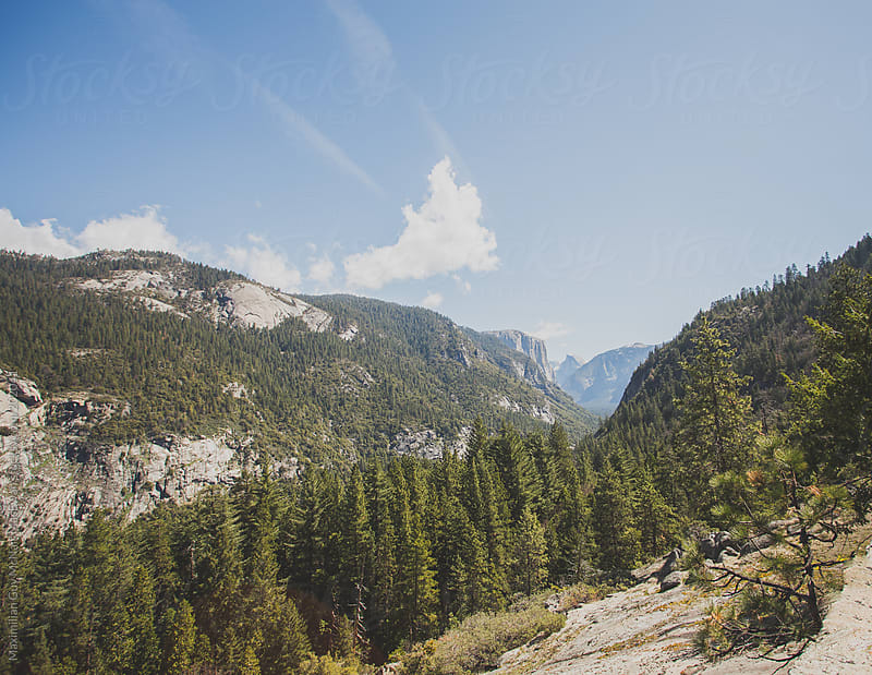 Yosemite Vista by Maximilian Guy McNair MacEwan for Stocksy United