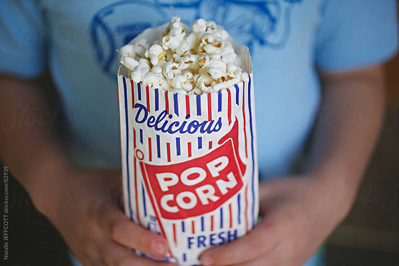 delicious popcorn by Natalie JEFFCOTT for Stocksy United
