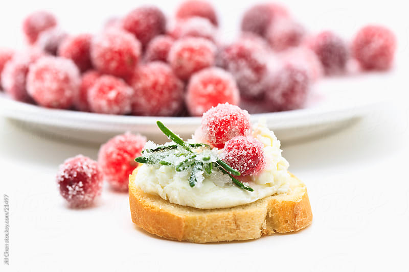 Sugared Cranberry Appetizer by Jill Chen for Stocksy United
