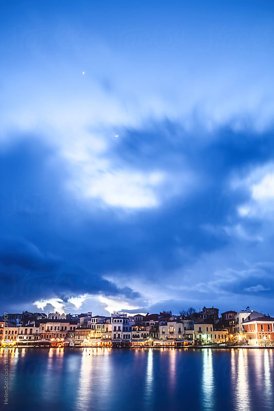 The Town of Chania, Crete in Greece by Helen Sotiriadis for Stocksy United