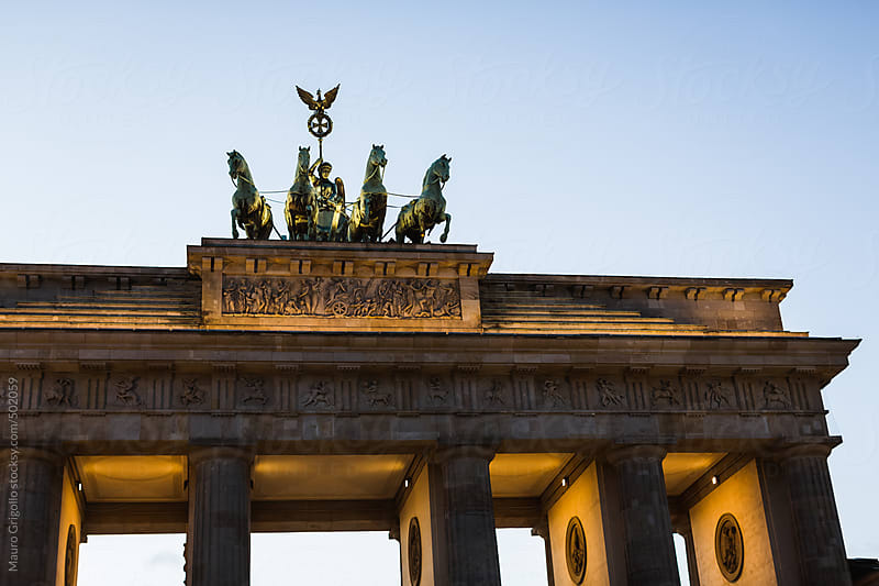 Brandenburg Gate in Berlin by Mauro Grigollo for Stocksy United