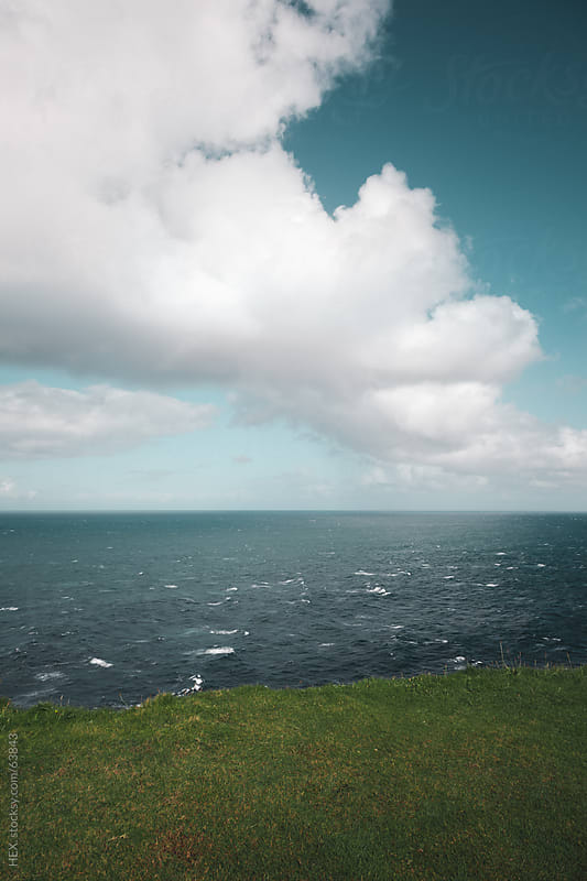 Loop Head Cliffs . Country of Clare Ireland by HEX . for Stocksy United