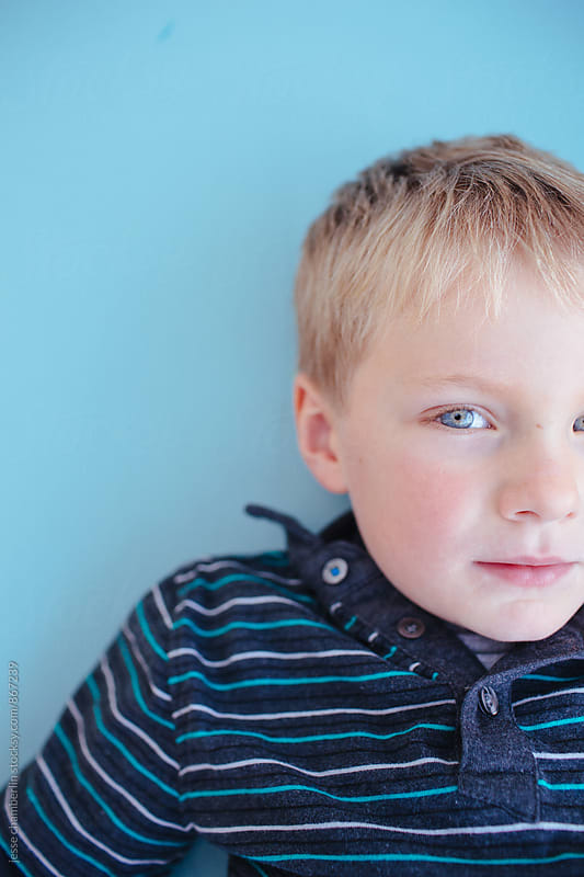 Little Boy Blue by jesse chamberlin for Stocksy United