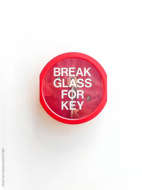 Break Glass! by James Tarry for Stocksy United