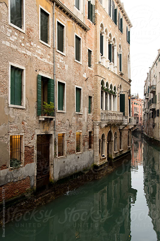 Venice canal by Bisual Studio for Stocksy United