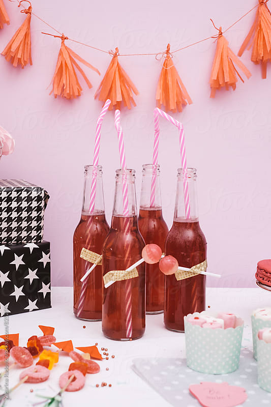 Sweets and Drinks Ready for Holiday Party by Katarina Radovic for Stocksy United