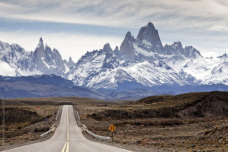 Argentinean Road to El Chaltén by Lucas Brentano for Stocksy United