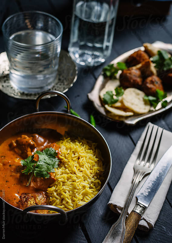 Indian meal. by Darren Muir for Stocksy United