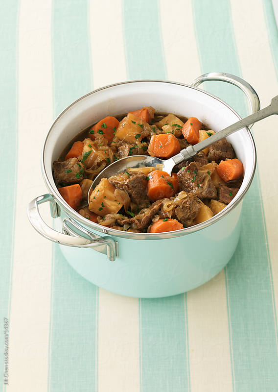 Healthy Beef Stew by Jill Chen for Stocksy United