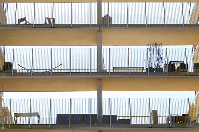 balconies by Rene de Haan for Stocksy United
