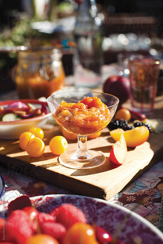 Apricot Jam At Picnic by Sara Remington for Stocksy United