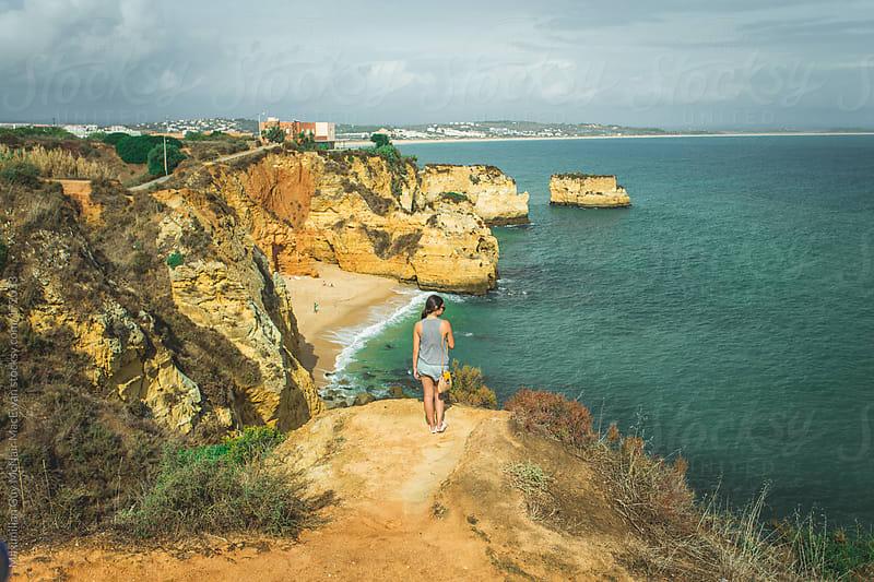 Beautiful Portuguese Coastline by Maximilian Guy McNair MacEwan for Stocksy United