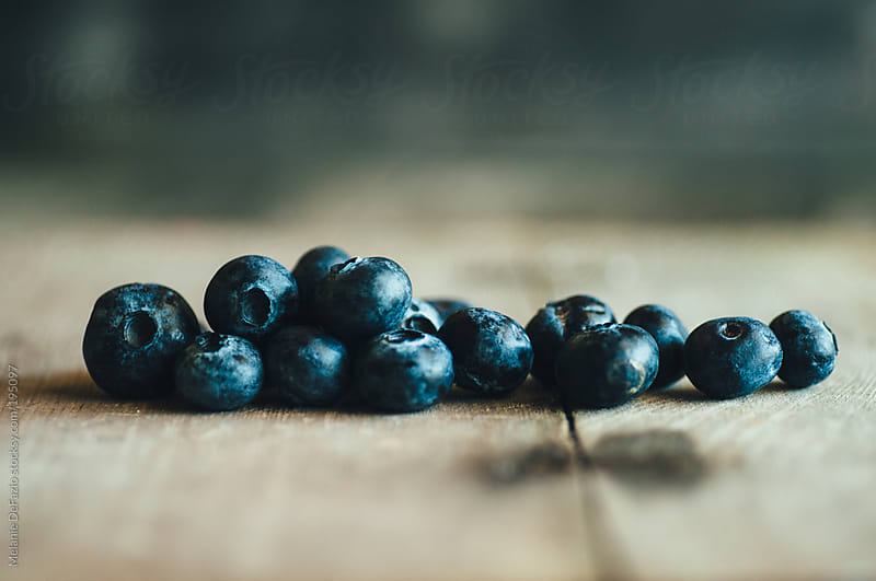 Blueberries by Melanie DeFazio for Stocksy United