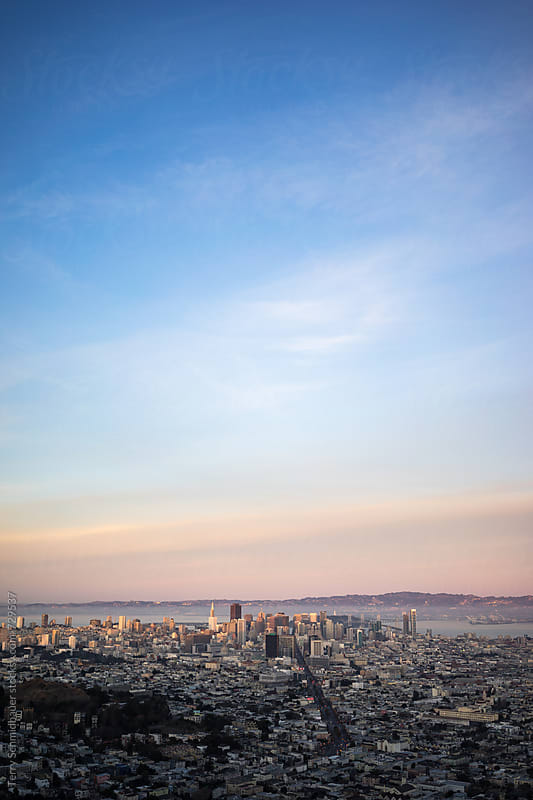 San Francisco Cityscape by Terry Schmidbauer for Stocksy United