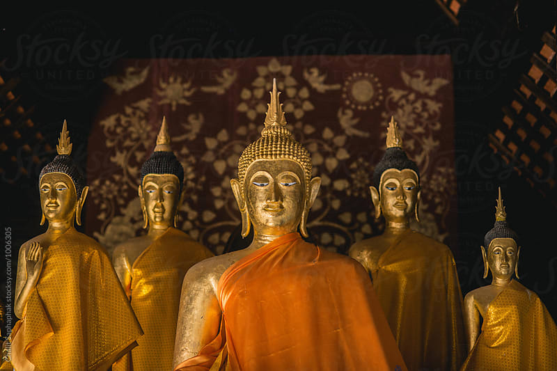 Buddha by Chalit Saphaphak for Stocksy United