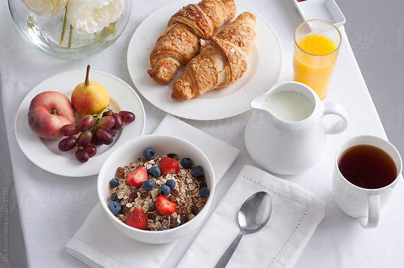 breakfast table by Lee Avison for Stocksy United