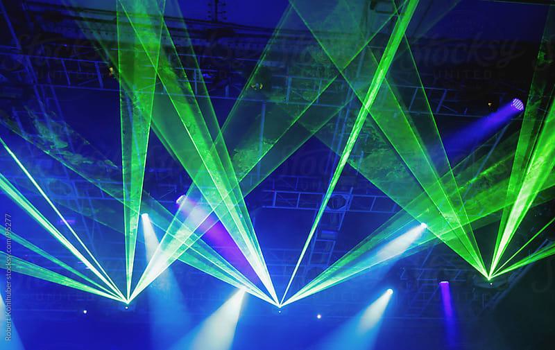 Stage lights by Robert Kohlhuber for Stocksy United
