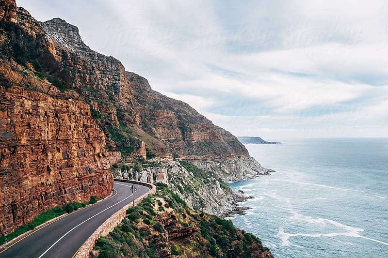 Chapmans Peak Drive in Cape Town by Micky Wiswedel for Stocksy United