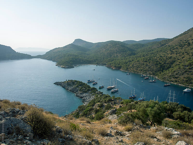 Gemiler Island, Fethiye, Turkey by DV8OR for Stocksy United