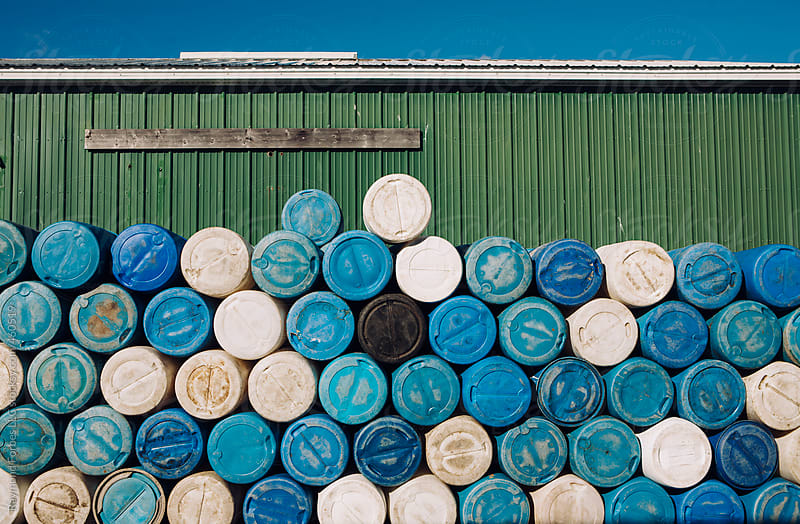 Barrel Stacked on High by Raymond Forbes LLC for Stocksy United