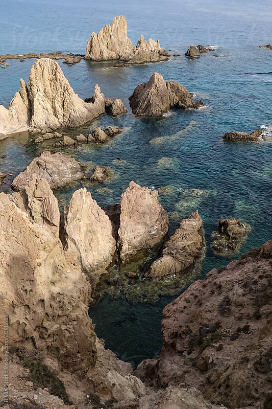 Sirens reef at Cabo de Gata, Spain by Bisual Studio for Stocksy United