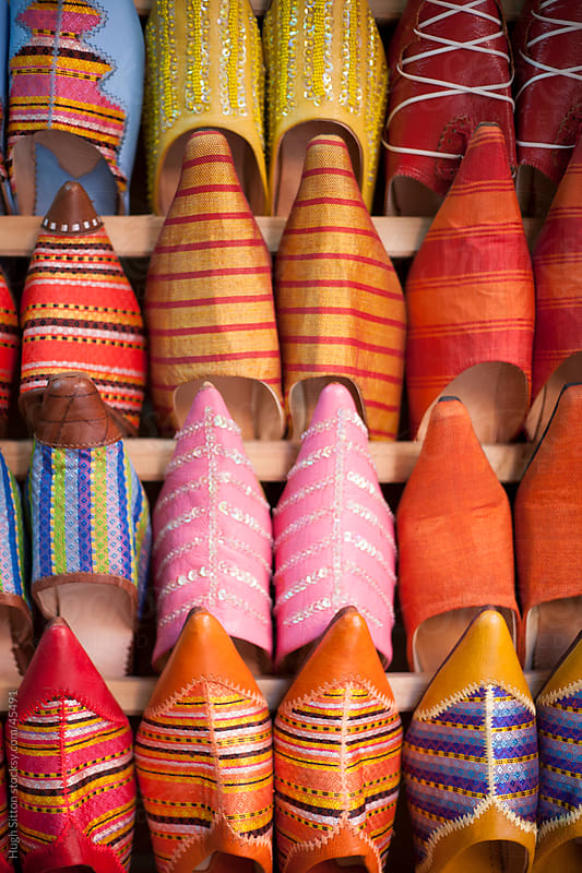 Moroccan Slippers for sale. by Hugh Sitton for Stocksy United