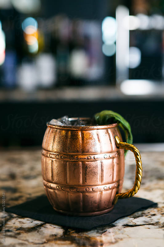stock photo: moscow mule