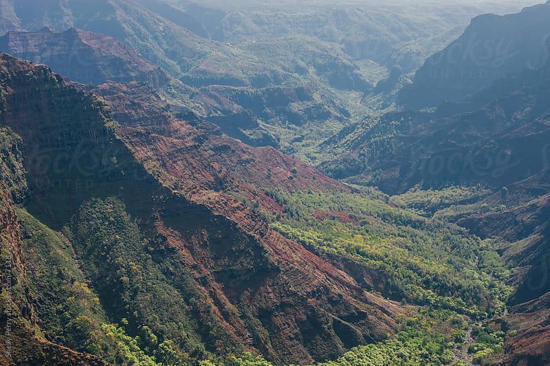Waimea Canyon on Kauai, Hawaii by Shelly Perry for Stocksy United