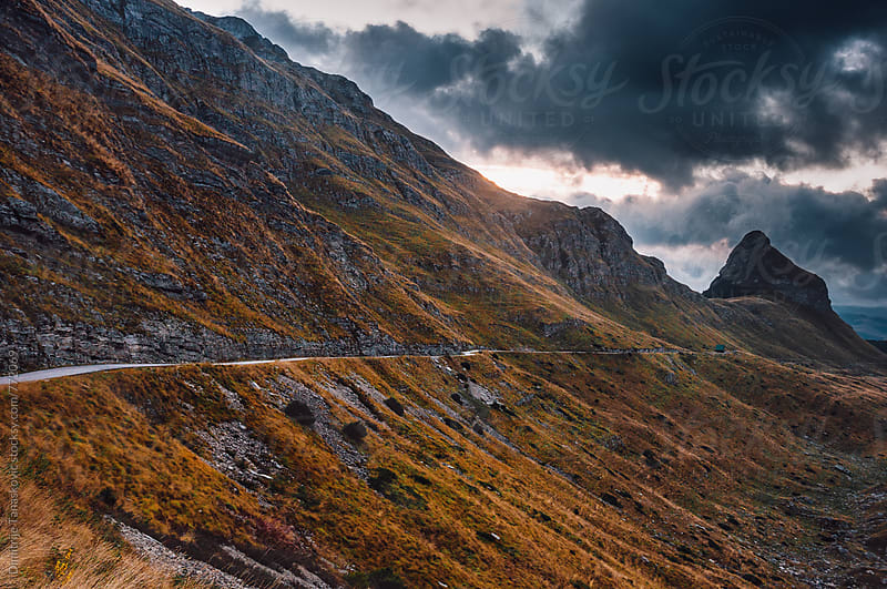 Beautiful autumn morning in the mountains by Dimitrije Tanaskovic for Stocksy United