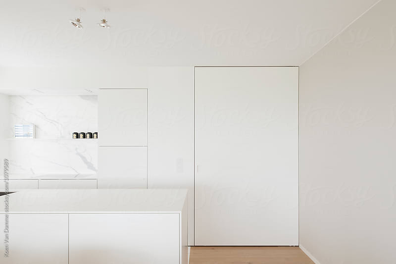 minimal kitchen by Koen Van Damme for Stocksy United