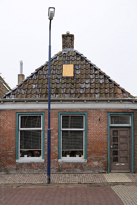 Small old Dutch house by Marcel for Stocksy United