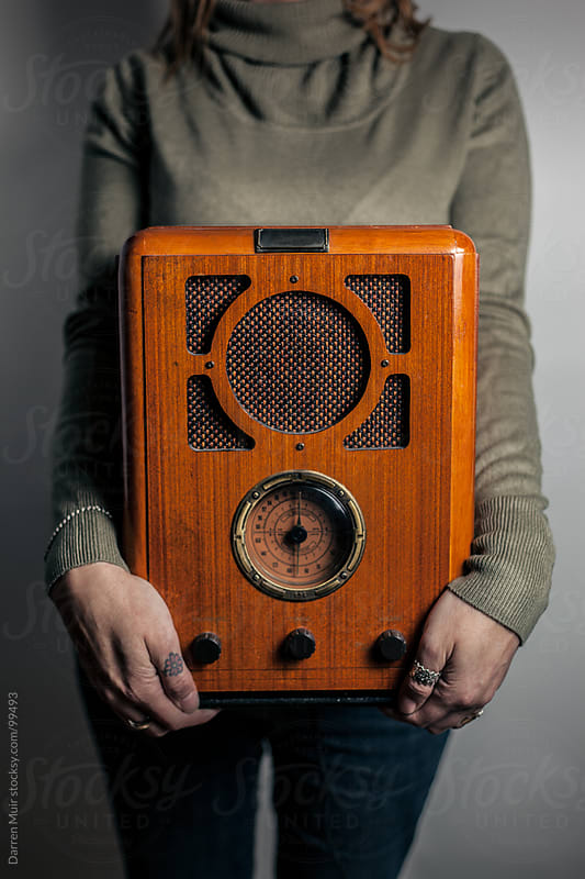 Retro Radio.  by Darren Muir for Stocksy United