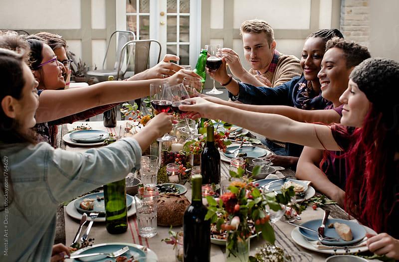 Roast Turkey Thanksgiving or Christmas by Mental Art + Design for Stocksy United