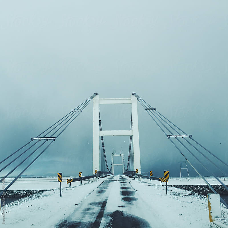 Bridges in Iceland by Kara Mercer for Stocksy United