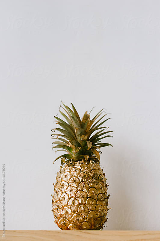 Golden Pineapple by Bruce and Rebecca Meissner for Stocksy United