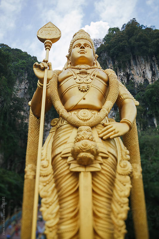 Batu Caves in Kuala Lumpur by Good Vibrations Images for Stocksy United