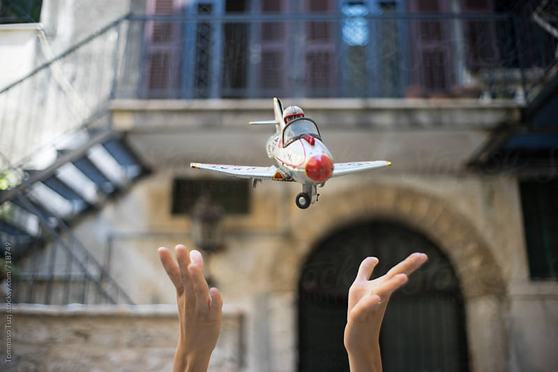 Toy Airplane by Tommaso Tuzj for Stocksy United