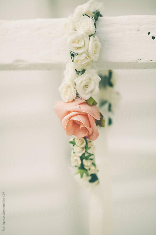 Bridal Flower Wreath by Lumina for Stocksy United