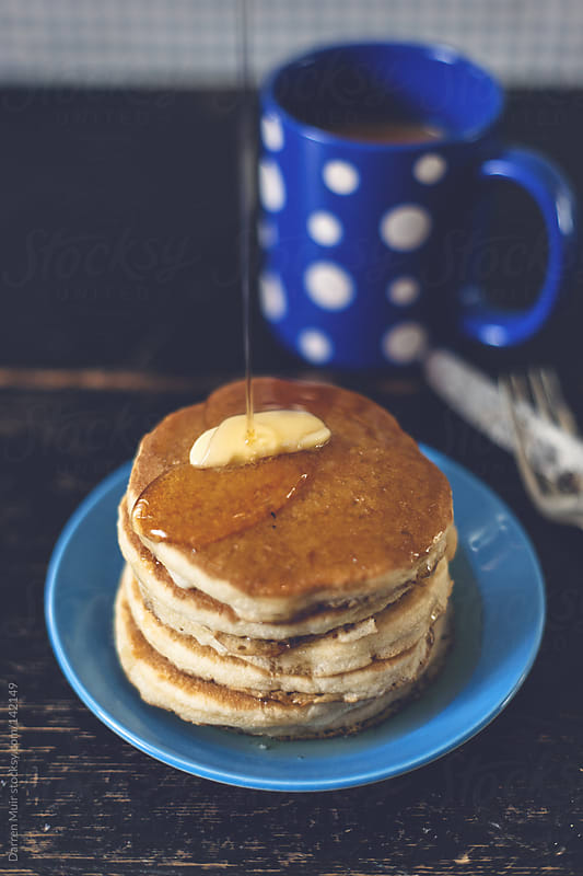 Pancake breakfast by Darren Muir for Stocksy United