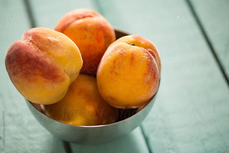 Fresh Peaches by Lumina for Stocksy United