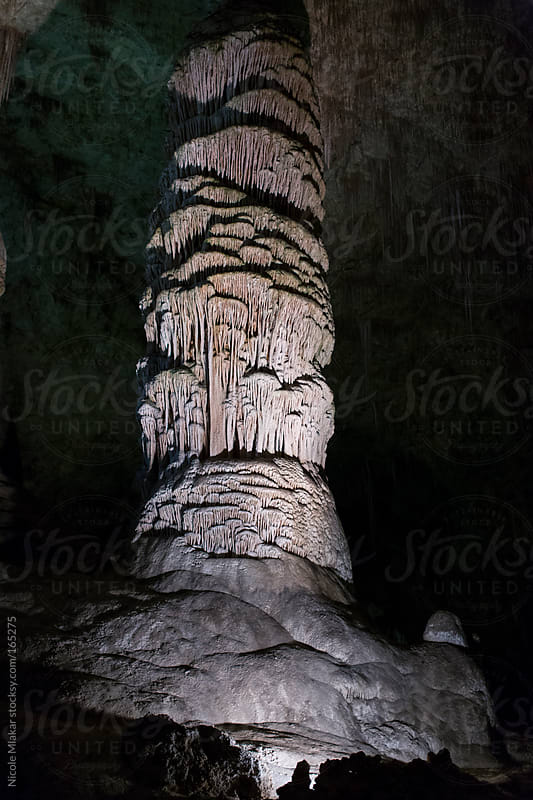 Underground in Carlsbad Caverns, New Mexico by Nicole Mlakar for Stocksy United