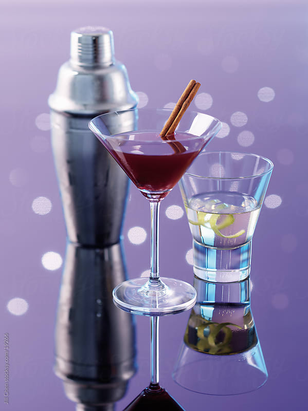 Winter Cocktails by Jill Chen for Stocksy United