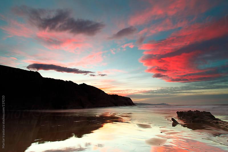 Sunset Red by Marilar Irastorza for Stocksy United