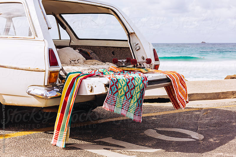 Surfing adventure road trip along the Australian coastline. by Image Supply Co for Stocksy United